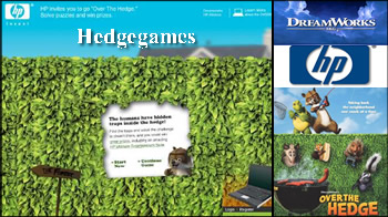 Puzzle site for Over the Hedge
